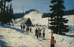 Snoqualmie Summit Ski Area Postcard
