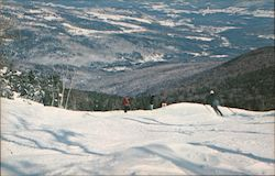 Catamount Trail - Mad River Glen Ski Area Postcard