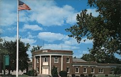 Borough Hall, Middlesex County Postcard