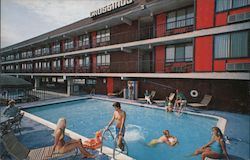 Crossings Motor Inn Postcard