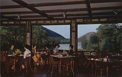 Jordan Pond House Dining Room Postcard