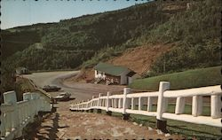 The Stairs to the Lookout, East of Perce Postcard