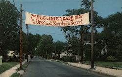 Entrance to Cape May - Lafayette Street