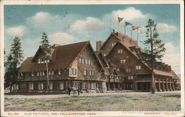 Old Faithful Inn - Yellowstone Park Yellowstone National Park Wyoming