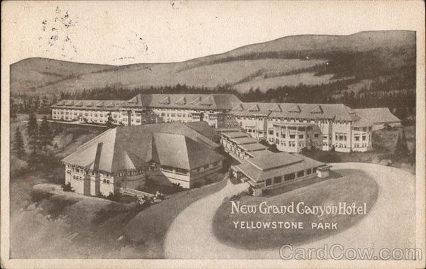 New Grand Canyon Hotel Yellowstone National Park Wyoming