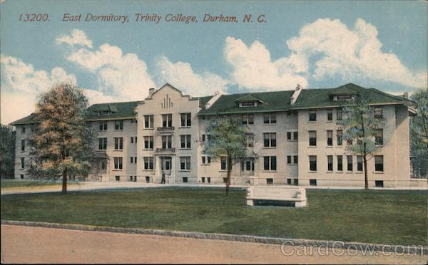 East Dormitory, Trinity College Durham North Carolina