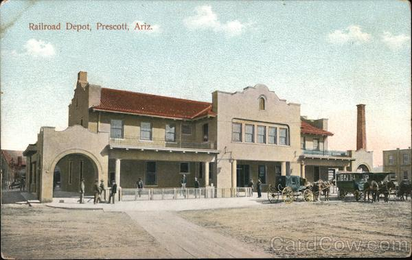 Railroad Depot Prescott Arizona
