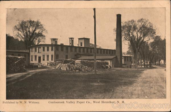 Contoocook Valley Paper Co. West Henniker New Hampshire