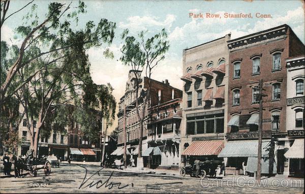 Park Row Stamford Connecticut
