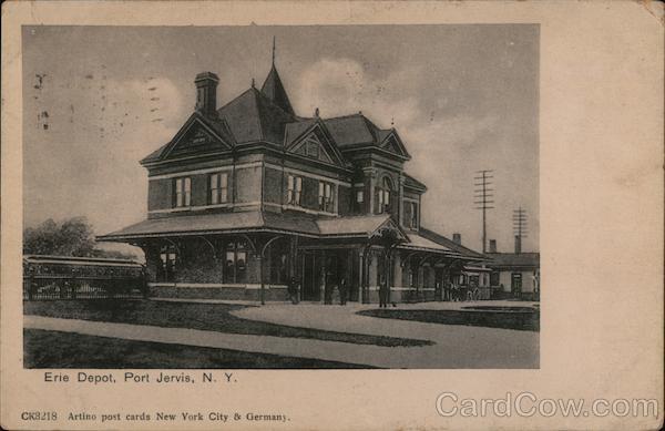 Erie Depot Port Jervis New York