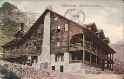 he Hermitage, Ogden Canyon Postcard
