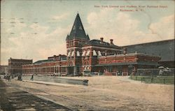 New York Central and Hudson River Railroad Depot Postcard