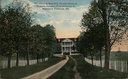 Driveway to Rose Hill, Former Home of Thomas Johnson, First Governor of Maryland