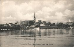 Annapolis, Md., from Eastport, near the Bridge