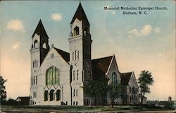 Memorial Methodist Episcopal Church Postcard