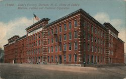 Duke's Factory, Home of Duke's Mixture, Fatima and Piedmont Cigarettes