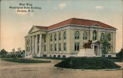 West Wing Washington Duke Building Postcard