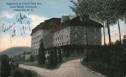 Approach to Grove Park Inn from South Entrance, Asheville, N.C.