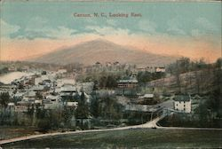 Canton, N.C. Looking East Postcard