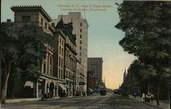 View of Trvon Street, Looking South From Seventh Street Postcard