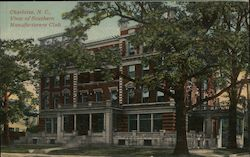 View of Southern Manufacturers Club Postcard