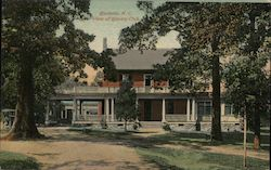 View of Country Club Postcard