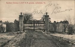 Northern Entrance to N.P.V.A. Grounds