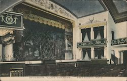 Interior, Elks Theatre Postcard
