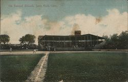 The Baseball Grounds And Viewing Pavilion At Savin Rock Postcard