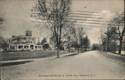 Riverlawn Sanitarium & Totowa Ave. Postcard