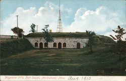 Magazine 1775, Fort Sewell Postcard