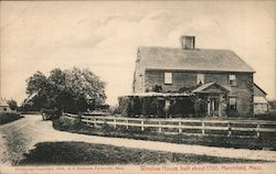 Winslow House, Built about 1700 Postcard