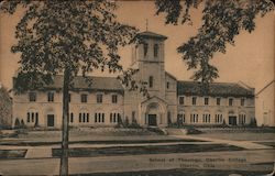 School of Theology, Oberlin College Postcard