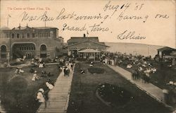 View of Casino Postcard