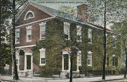 Colonial Residence of Mr. Barton Myers Postcard