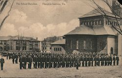 The School Battalion - Hampton Institute