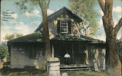 Blennerhassett House on Blennerhassett Island Postcard