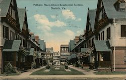 Pelham Place, Ghent Residential Section Postcard
