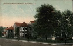 Wichester Memorial Hospital Postcard