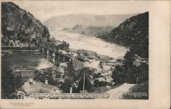 Junction of Potomac and Shenandoah Rivers Postcard