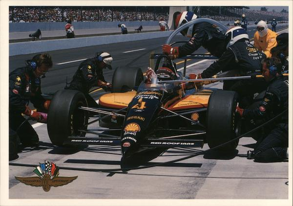1994 Bobby Rahal Pit Stop Indianapolis Auto Racing