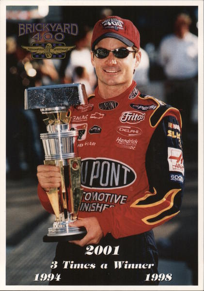 Jeff Gordon Roger Bedwell Auto Racing