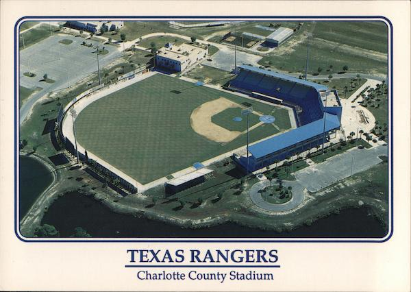 Charlotte County Stadium - Spring Home of the Texas Rangers Port Charlotte Florida