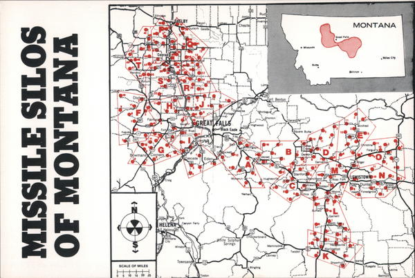 Missile Silos of Montana Maps