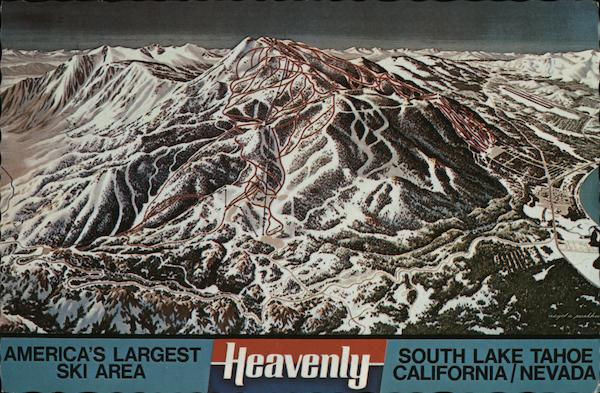 Heavenly Valley - America's Largest Ski Area South Lake Tahoe California