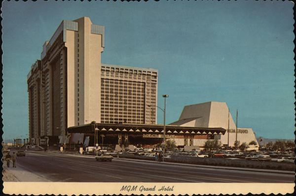 Mgm Grand Hotel Las Vegas Nv Postcard