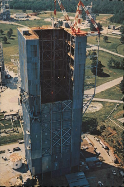 Dynamic Test Stand, Marshall Space Flight Center Huntsville Alabama