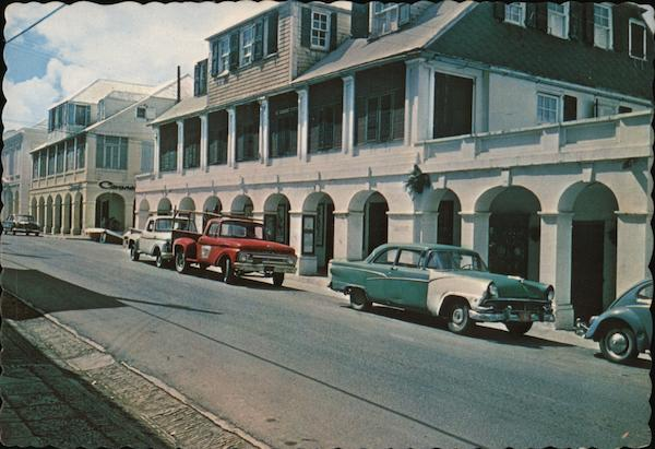 The Arcades of King Street, Saint Croix Christiansted Virgin Islands