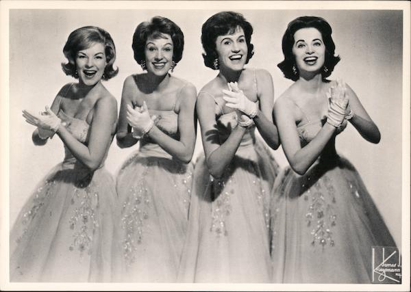 The Chordettes, 1954 Performers & Groups