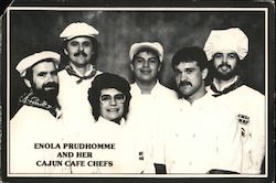 Enola Prudhomme and her Cajun Cafe Chefs